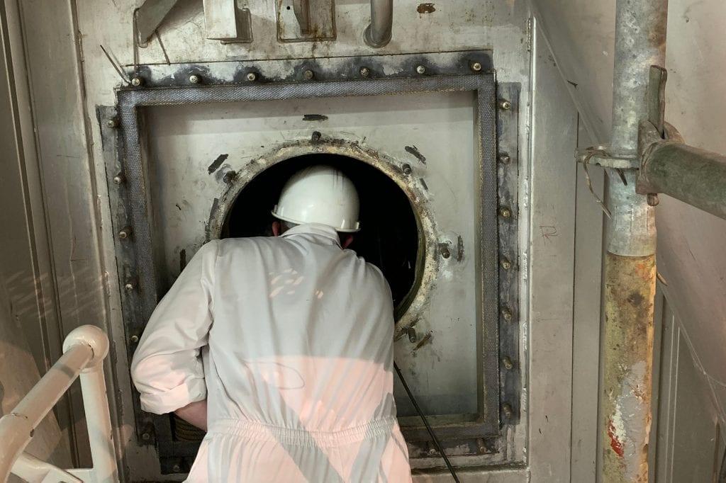 mitsubishi marine high pressure boiler
