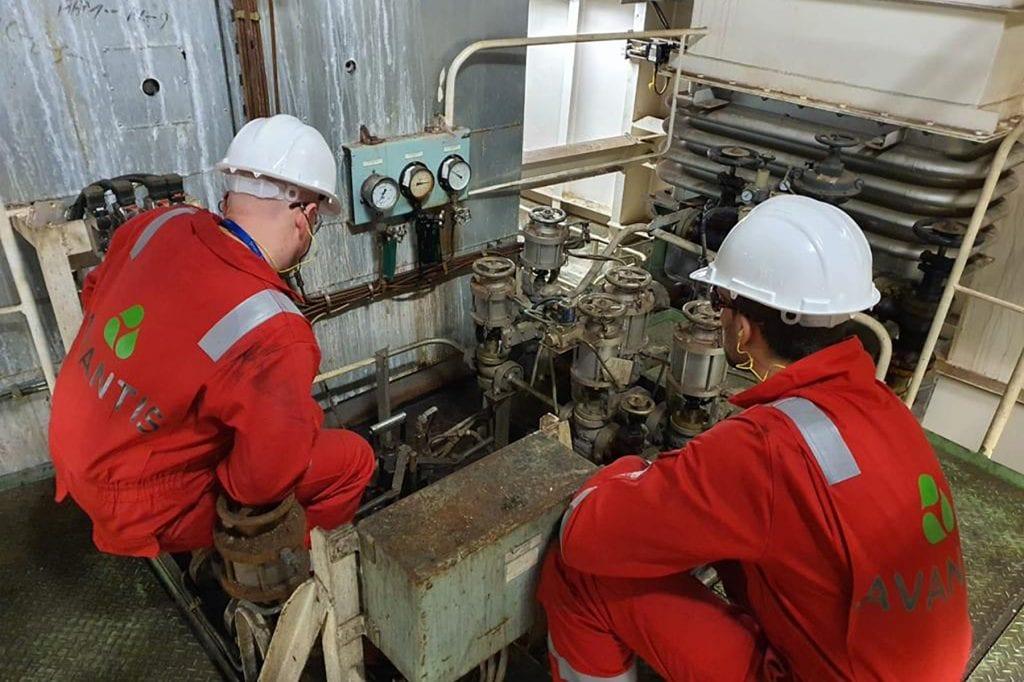 steam plant inspection avantis